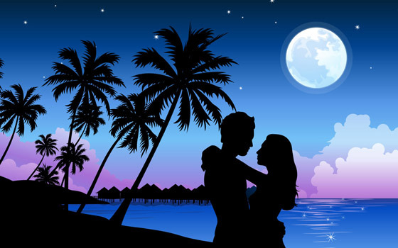 Beautiful Romantic Moonlight Wallpapers (6)