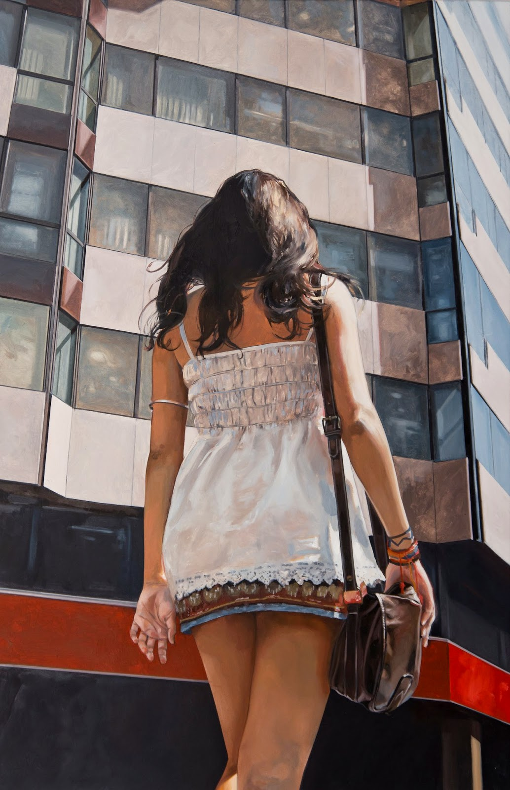 Hyper Realistic Girls Figure Painting By Marc Figueras (15)