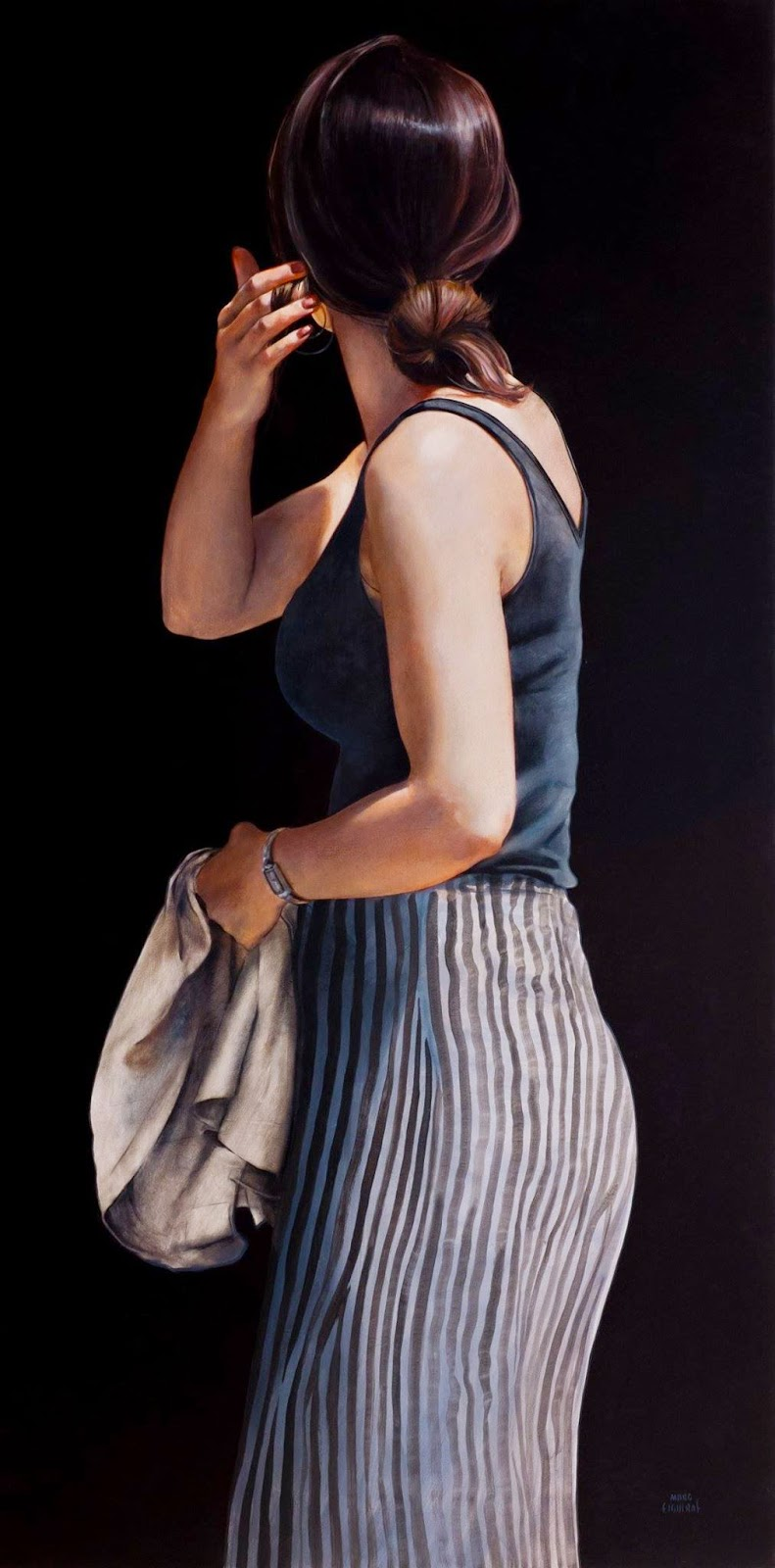 Hyper Realistic Girls Figure Painting By Marc Figueras 2