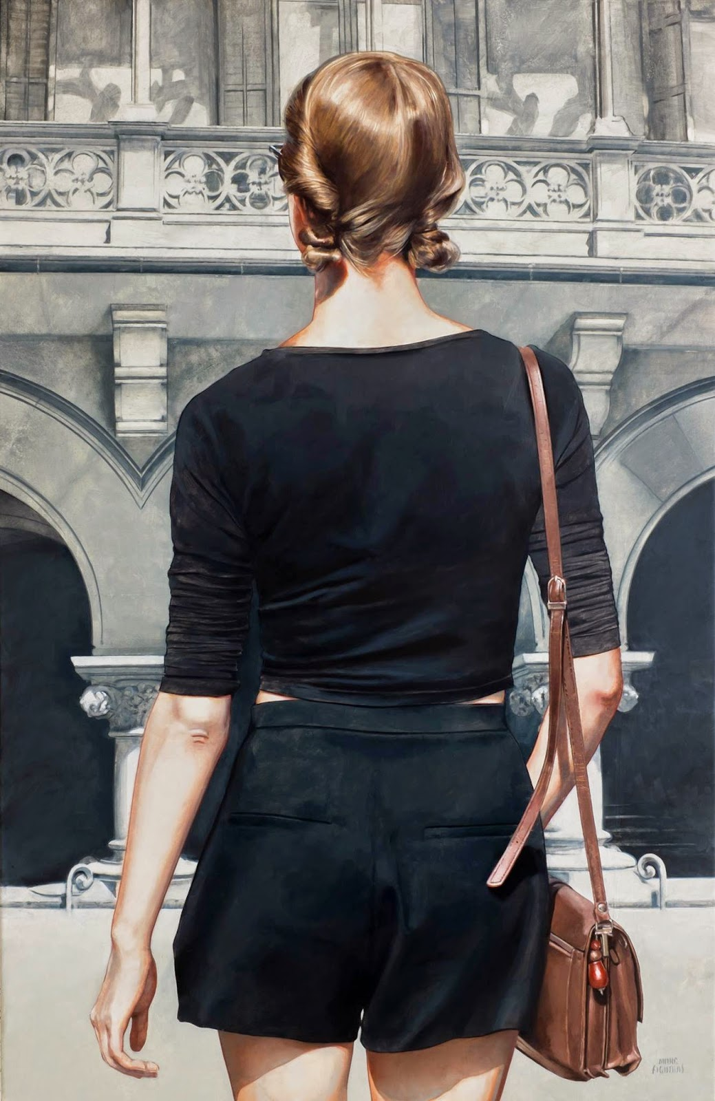 Hyper Realistic Girls Figure Painting By Marc Figueras (20)