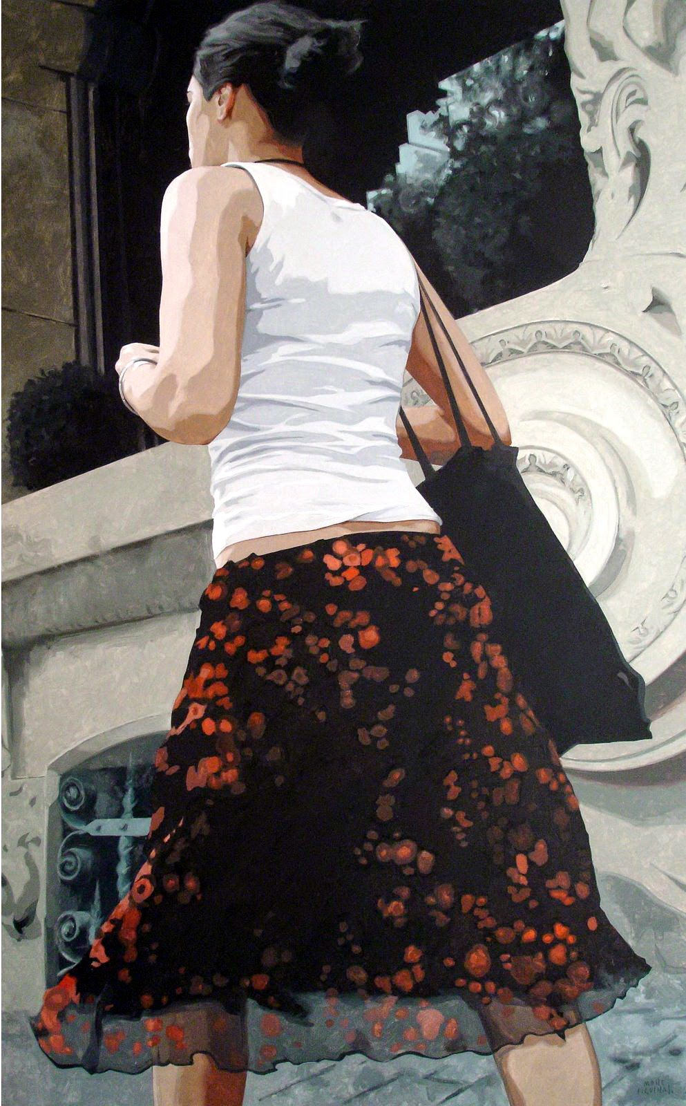 Hyper Realistic Girls Figure Painting By Marc Figueras (21)