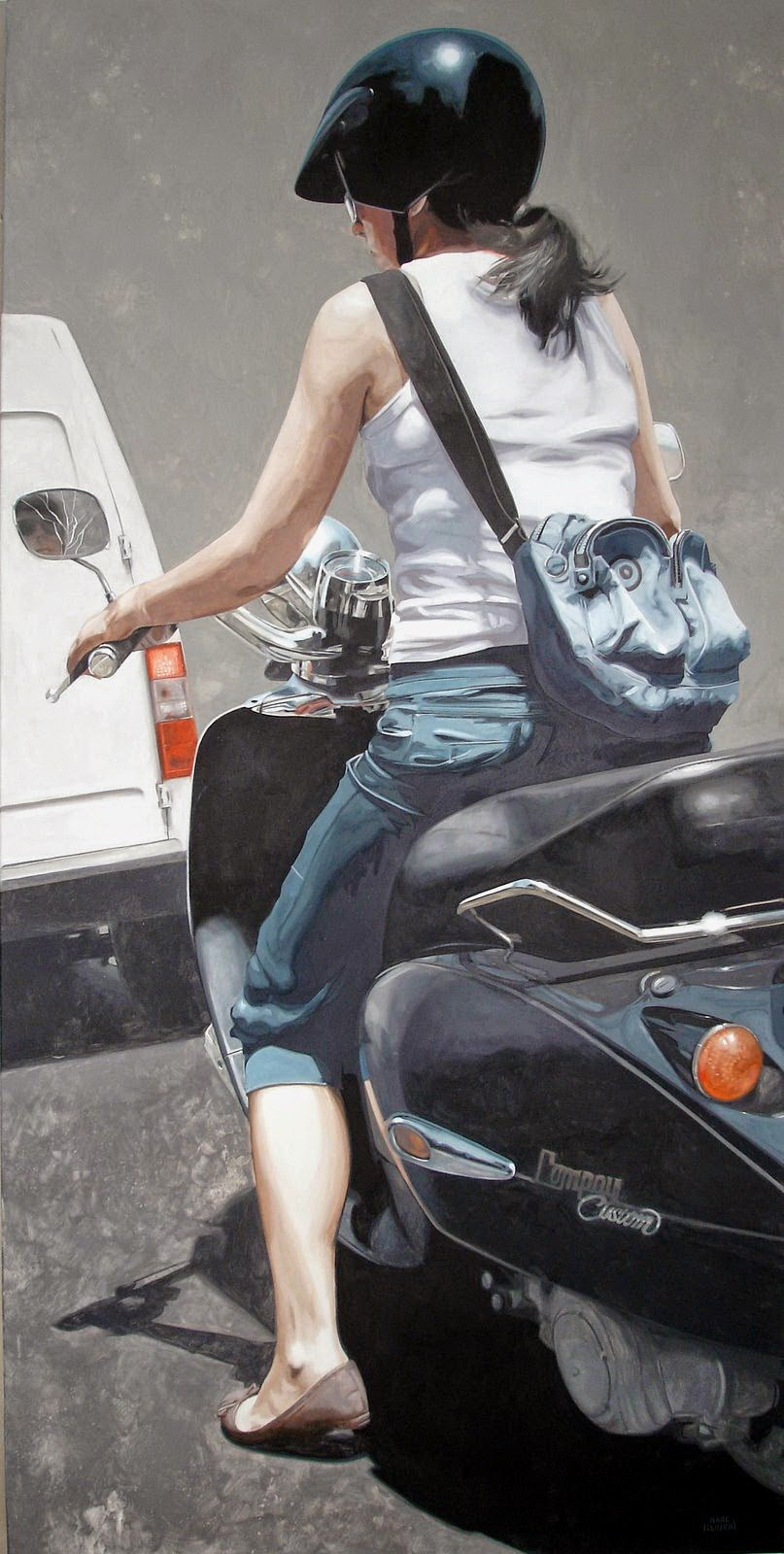 Hyper Realistic Girls Figure Painting By Marc Figueras (27)