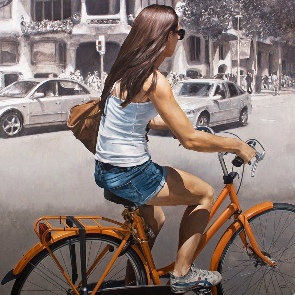 Hyper Realistic Girls Figure Painting By Marc Figueras (5)