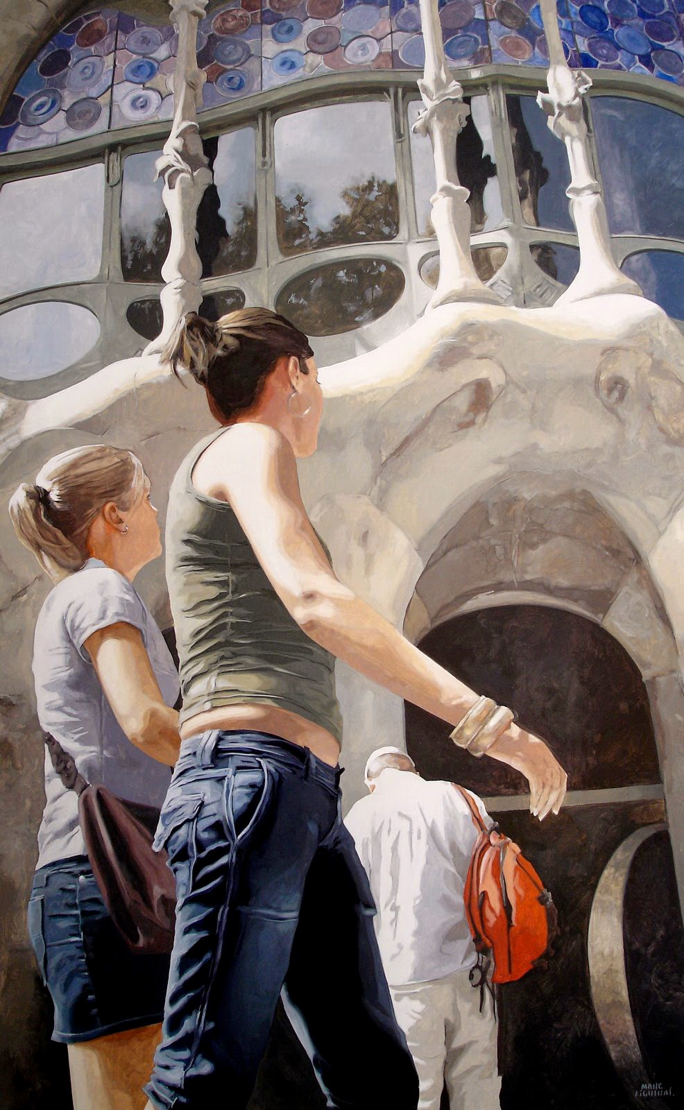 Hyper Realistic Girls Figure Painting By Marc Figueras (6)