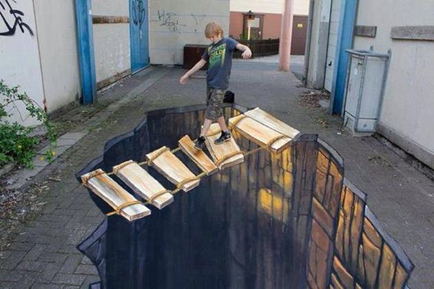 Incredible Stunning 3D Street Art (19)