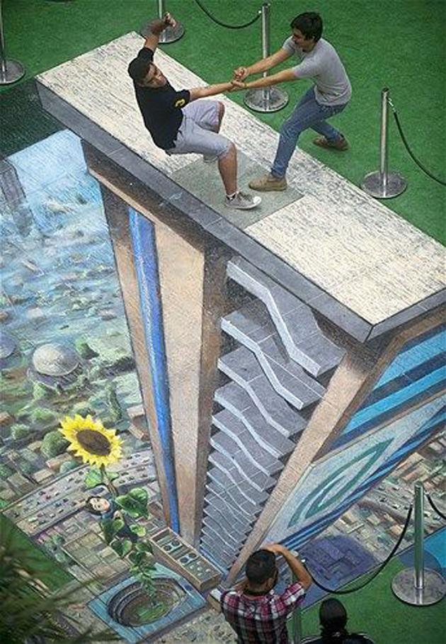 Incredible Stunning 3D Street Art (2)