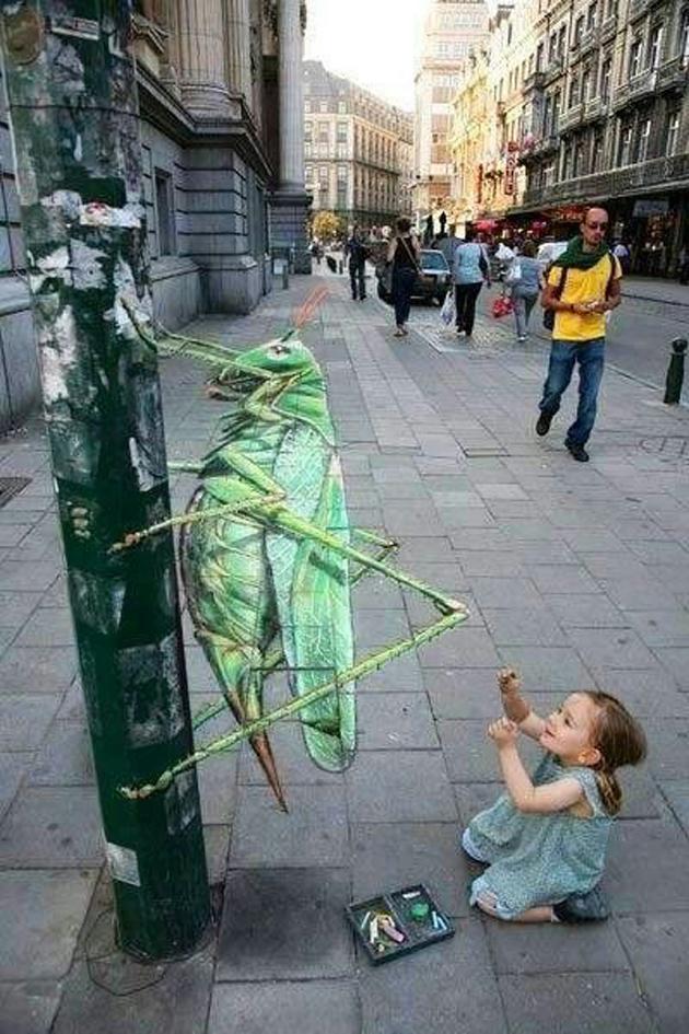 Incredible Stunning 3D Street Art (22)