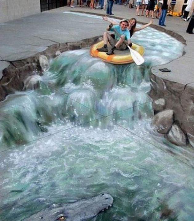 Incredible Stunning 3D Street Art (24)