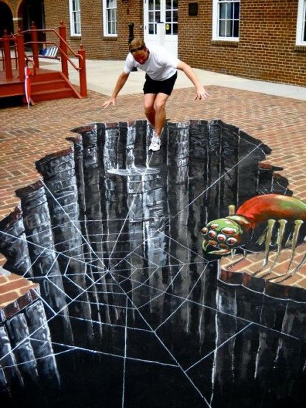 Incredible Stunning 3D Street Art (27)
