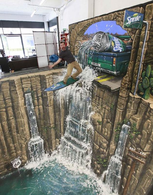 Incredible Stunning 3D Street Art (28)
