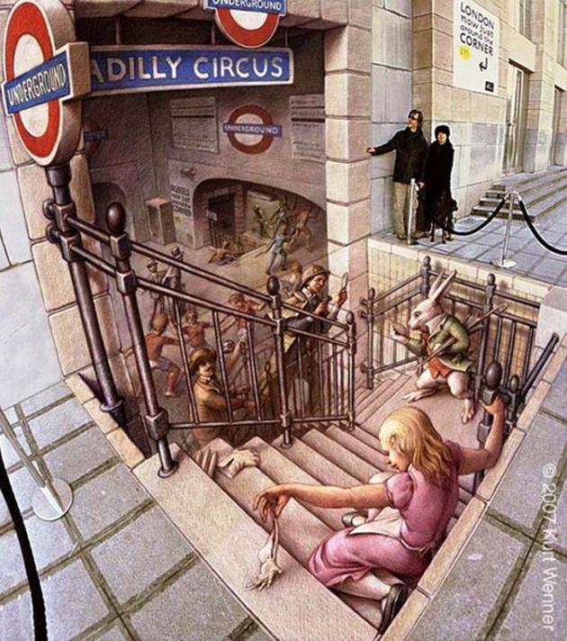 Incredible Stunning 3D Street Art (33)