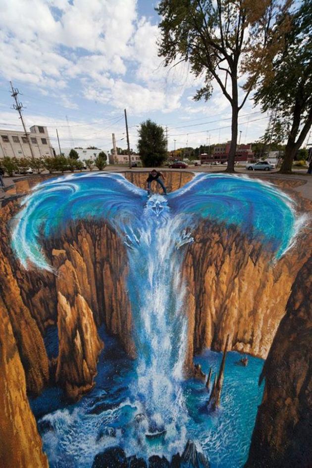 Incredible Stunning 3D Street Art (37)