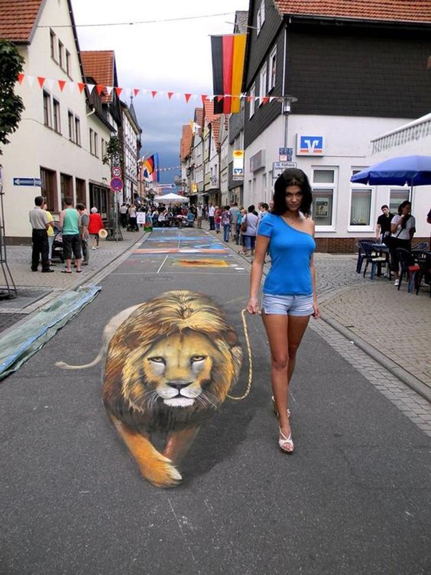 Incredible Stunning 3D Street Art (39)
