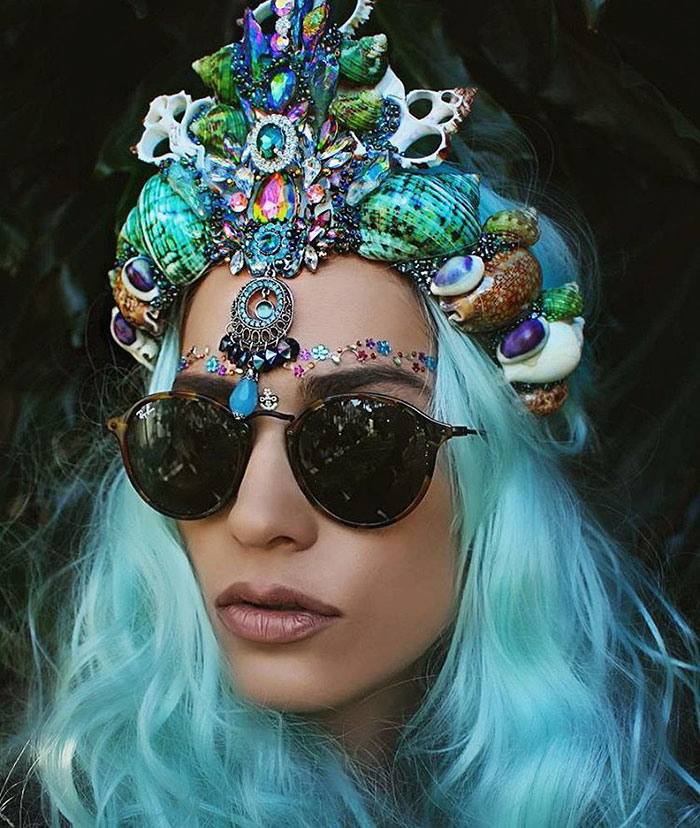 Mermaid Crowns With Real Seashells Photos (6)