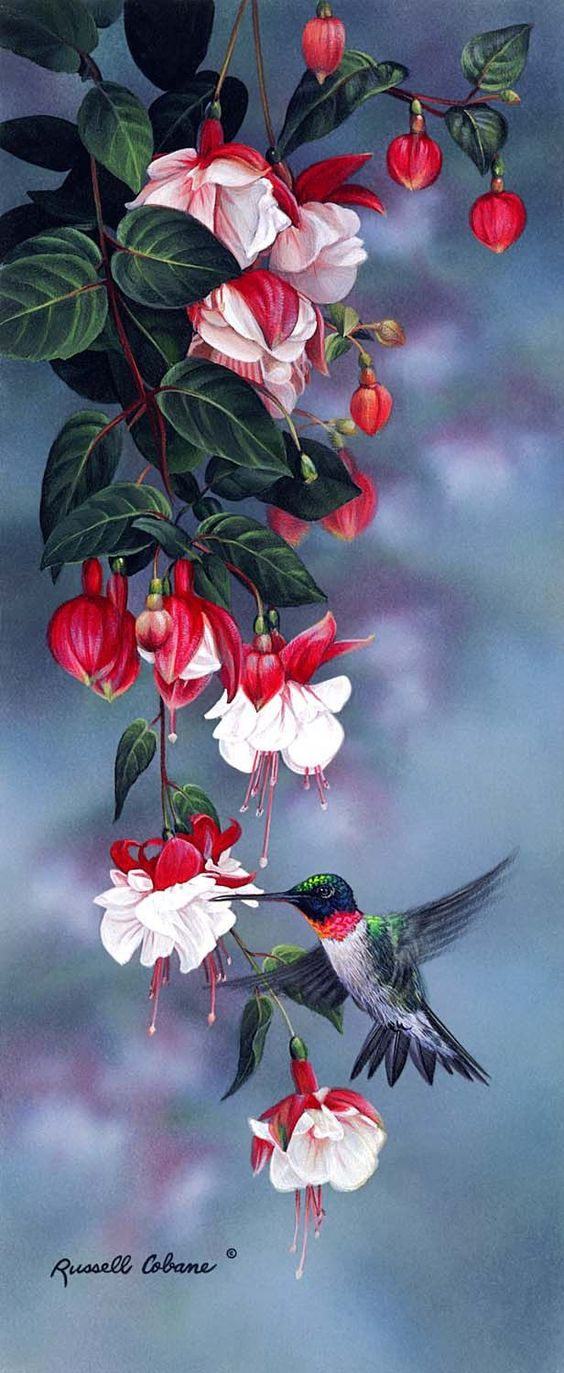Realistic Oil Painting of Birds (1)