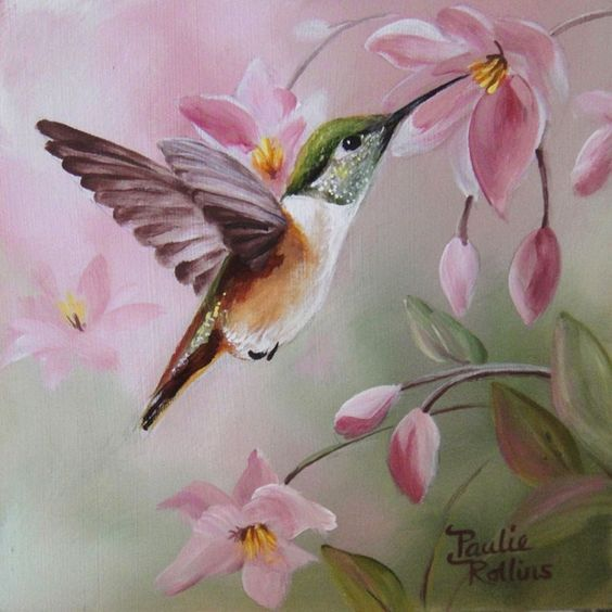 Realistic Oil Painting of Birds (13)