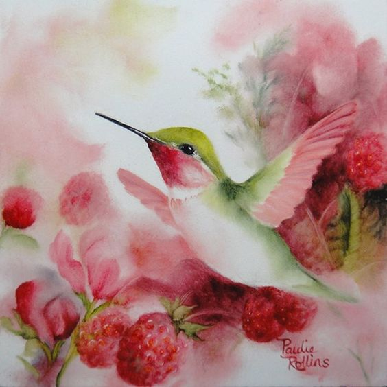 Realistic Oil Painting of Birds (14)