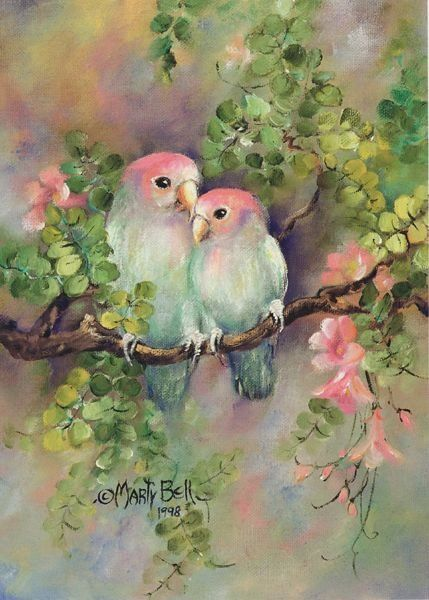 Realistic Oil Painting of Birds (29)