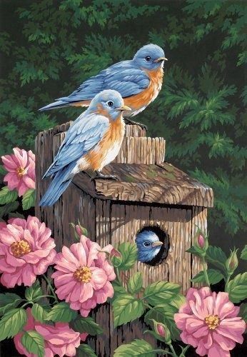 Realistic Oil Painting of Birds (33)