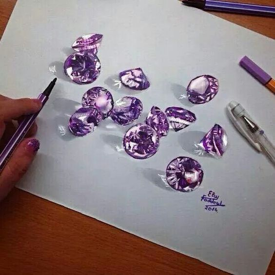 Stunning 3D Pencil Drawings (18)