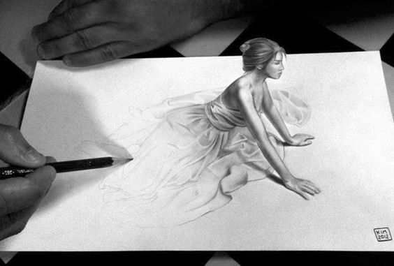 Stunning 3D Pencil Drawings (2)