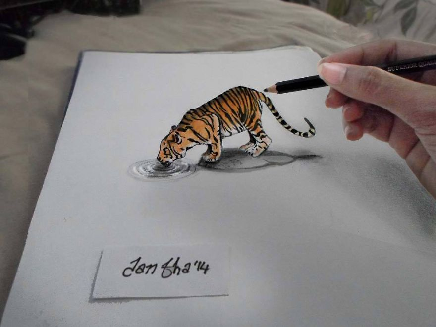 Stunning 3D Pencil Drawings (5)