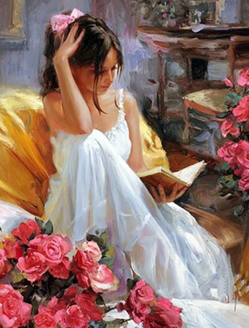 Stylish Girls Portraits Art By Pino Daeni (21)