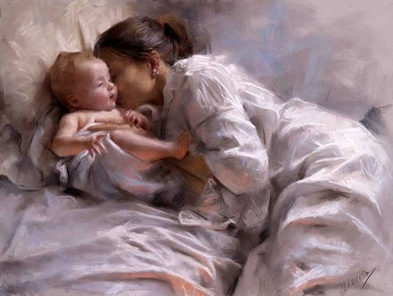 Stylish Girls Portraits Art By Pino Daeni (27)
