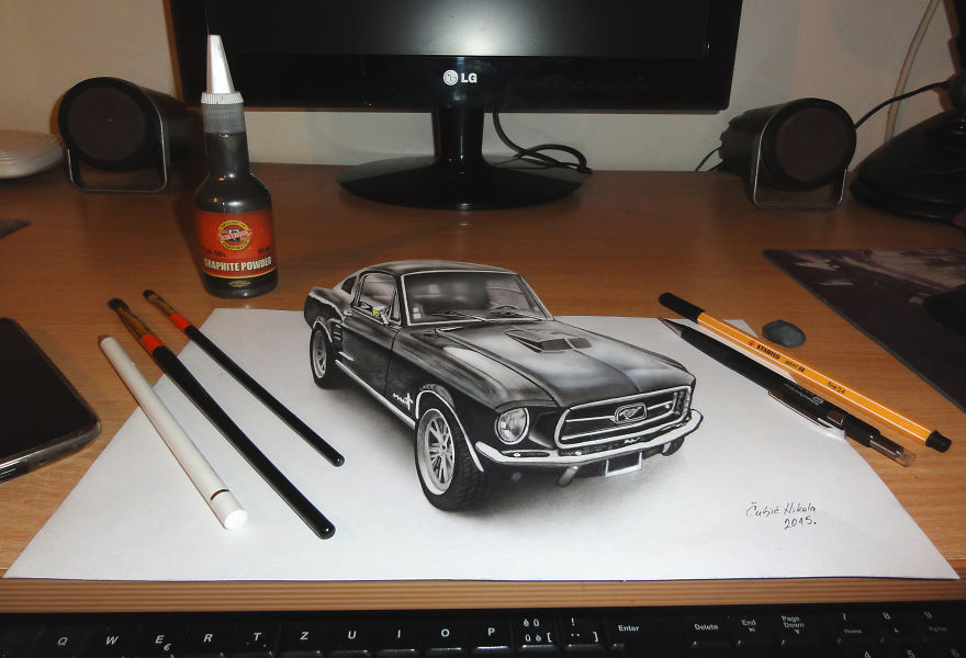 3D Drawing Created By Nikola Culjic (2)