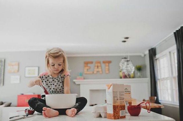 Cute Little Baby Chef Photography (14)