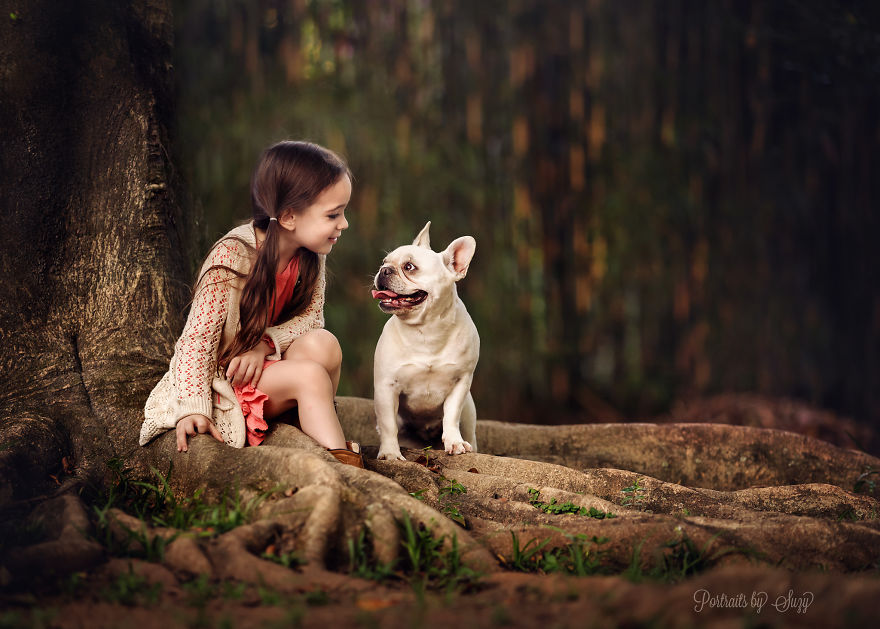 cute-photographs-that-show-special-bond-between-daughter-and-animals-2