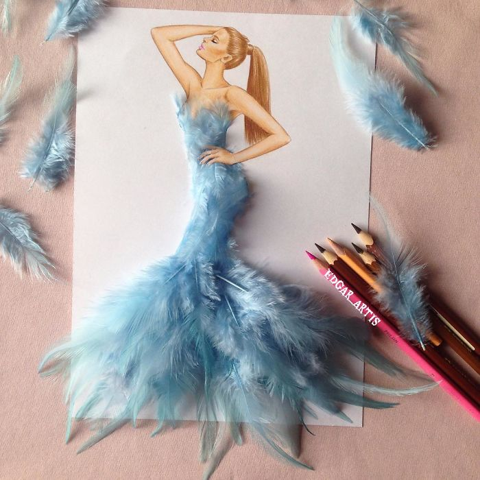 armenian-fashion-illustrator-creates-stunning-dresses-from-everyday-objects-7