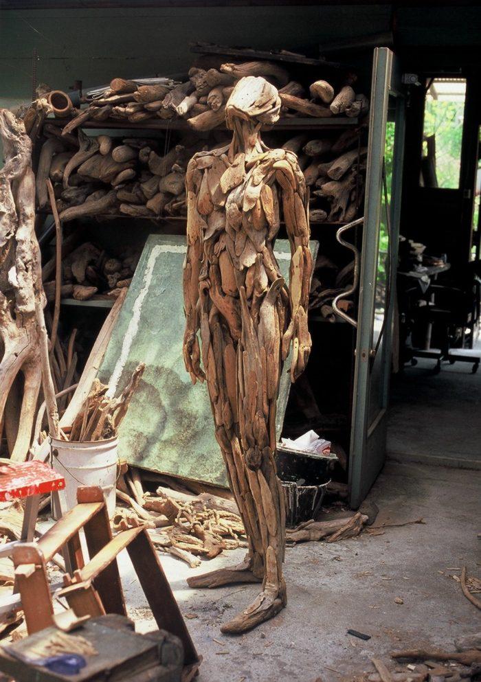Бродит Коряги Лесные Духи Японский Скульптор (12)