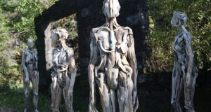 Haunting Driftwood Forest Spirits By Japanese Sculptor (7)