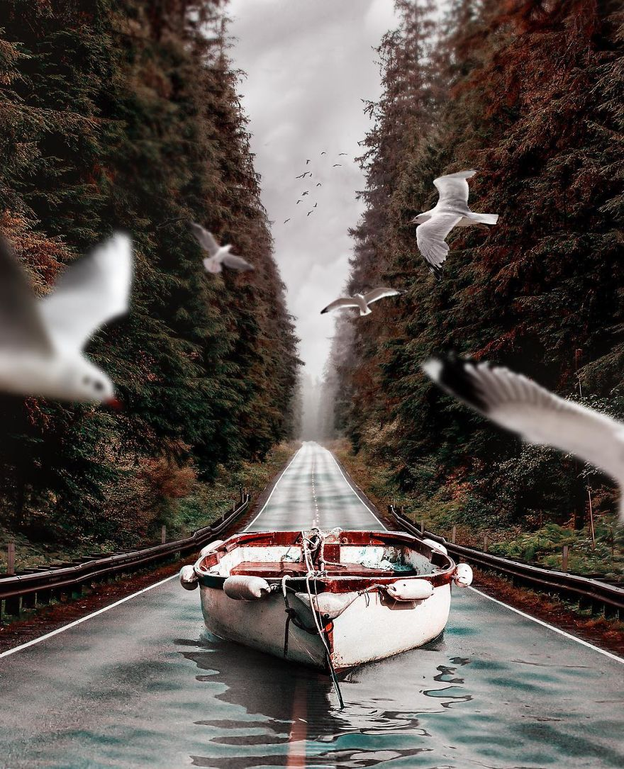 Surreal Digital Art By Huseyin Sahin (15)