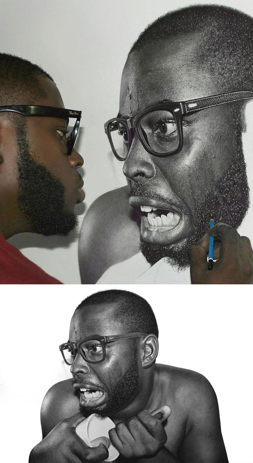 Unbelievably Realistic Pencil Portraits By Nigerian Artist (1)