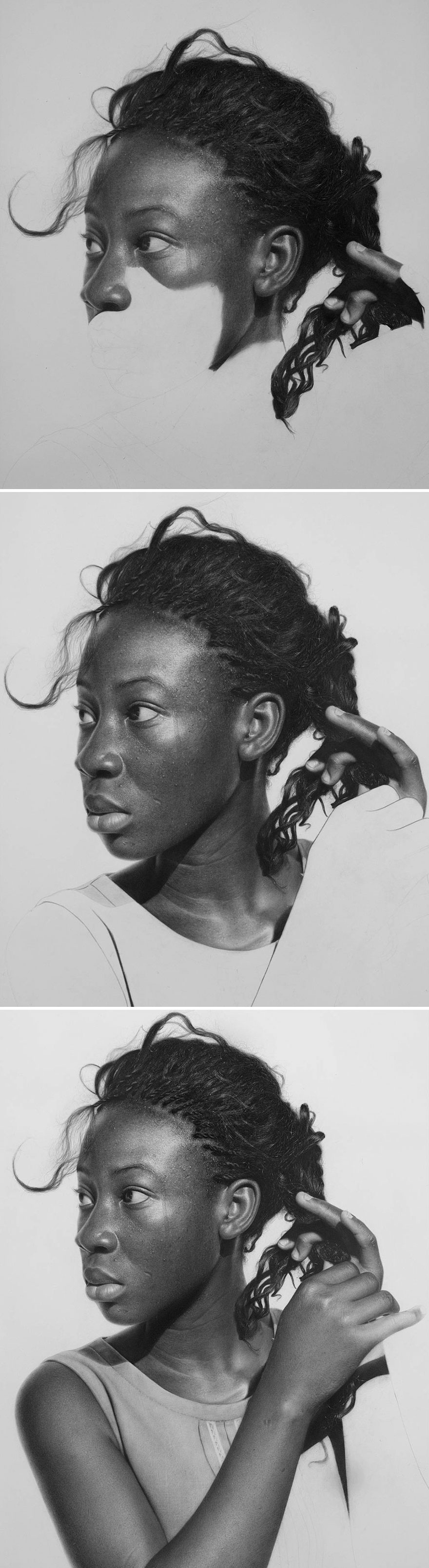 Unbelievably Realistic Pencil Portraits By Nigerian Artist (4)