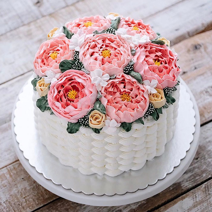 Yummy Blooming Flower Cakes (14)