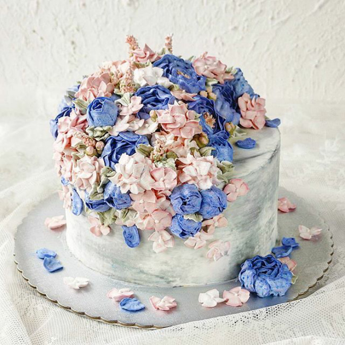 Yummy Blooming Flower Cakes (2)