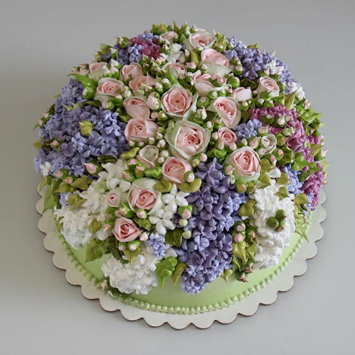 Yummy Blooming Flower Cakes (4)