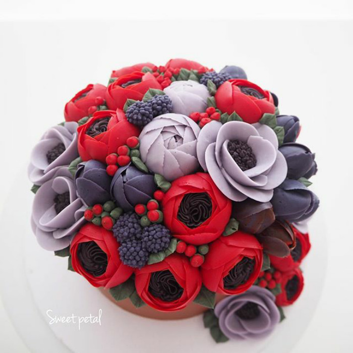 Yummy Blooming Flower Cakes (5)