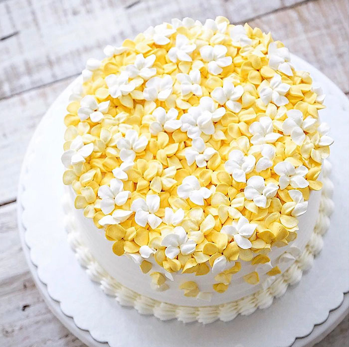 Yummy Blooming Flower Cakes (9)