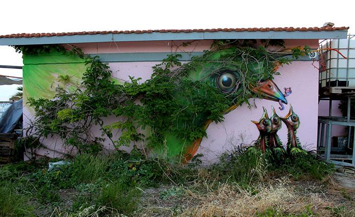 Fabulous And Stunning Nature Street Art (10)