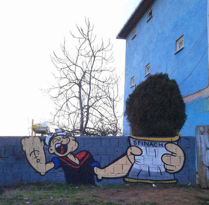 Fabulous And Stunning Nature Street Art (14)