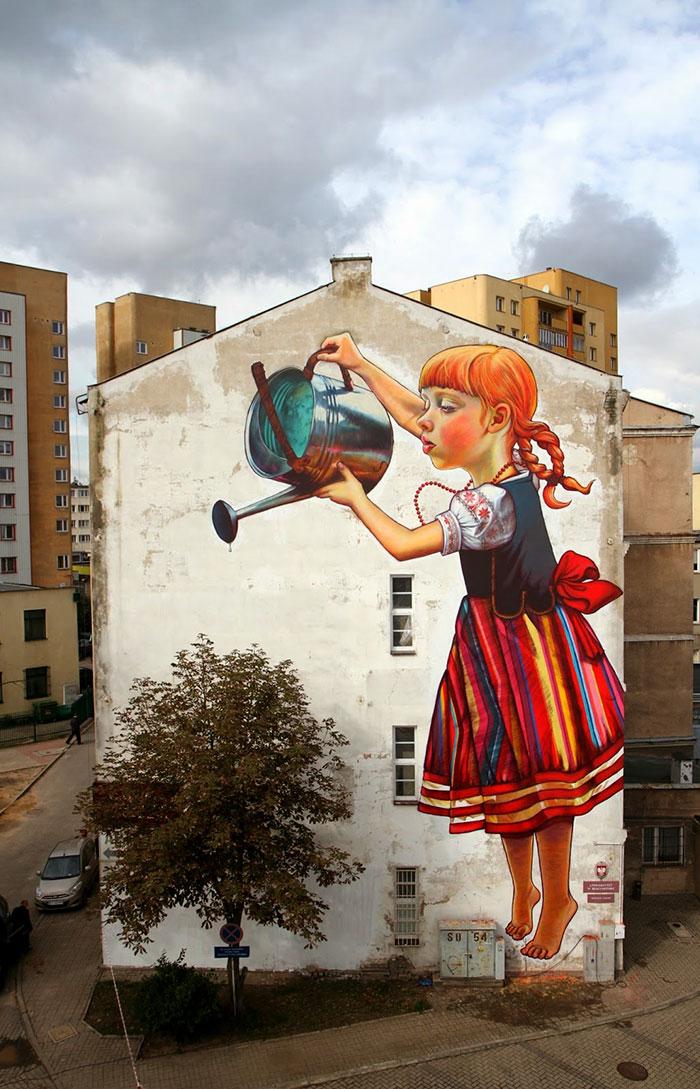Fabulous And Stunning Nature Street Art (5)