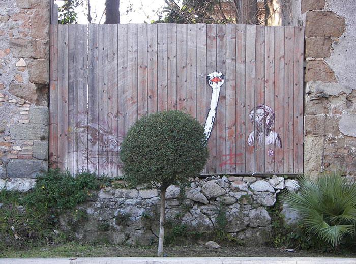 Сказочная И Потрясающая Природа Уличное Искусство (7)