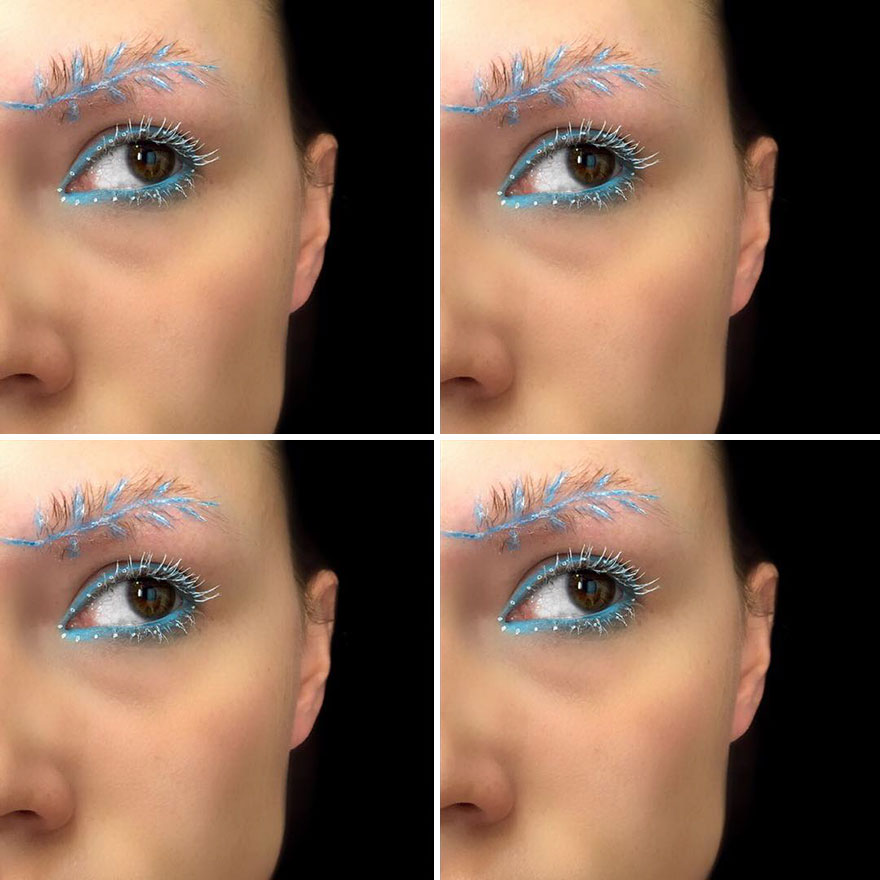 Newest Trend Feather Eyebrow Images (10)