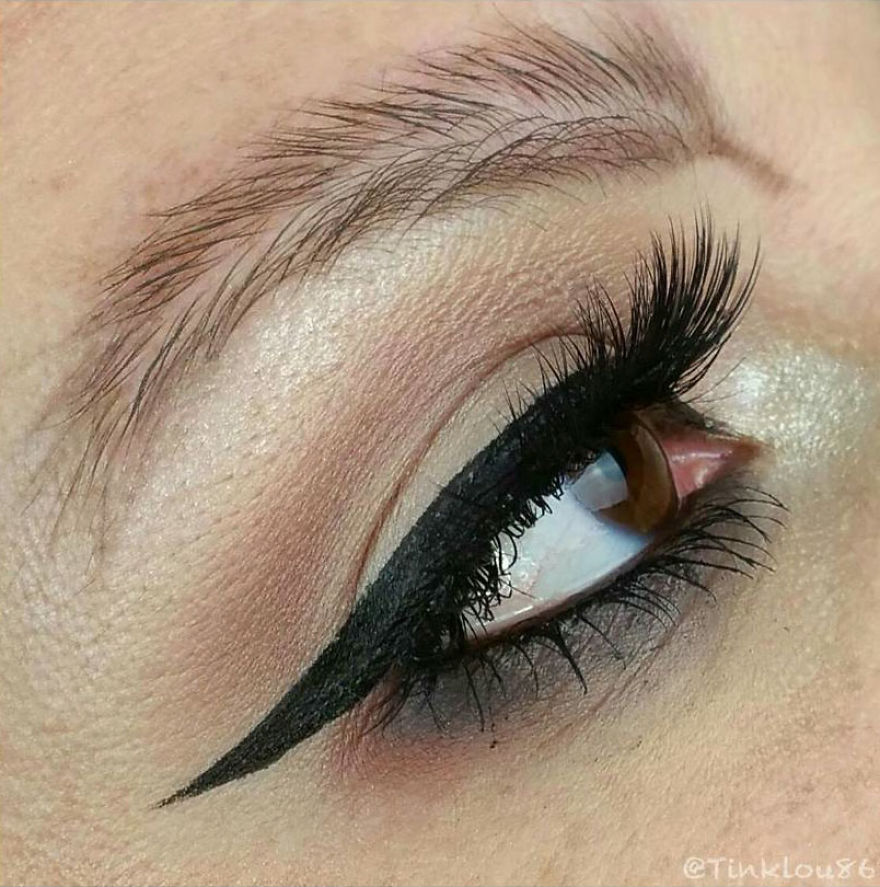 Newest Trend Feather Eyebrow Images (3)