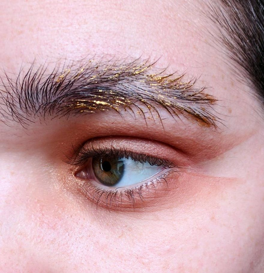 Newest Trend Feather Eyebrow Images (8)