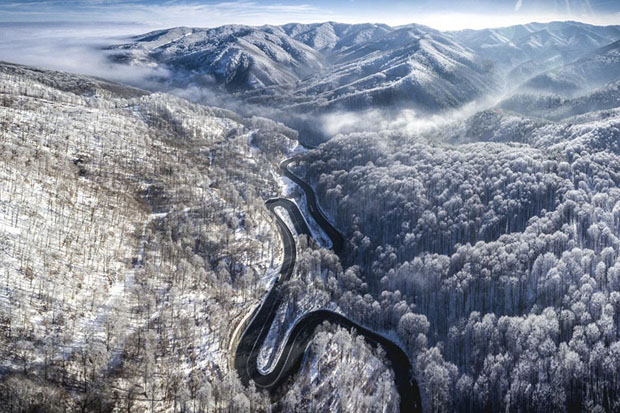 Infinite Road To Transylvania, Romania (Nature - Finalist)